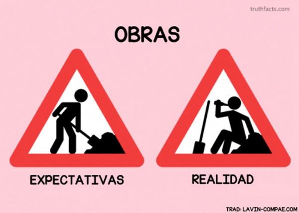 Obras: expectativas y realidad