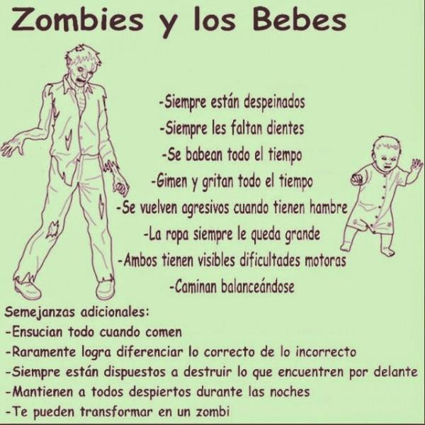 Bebés y zombies