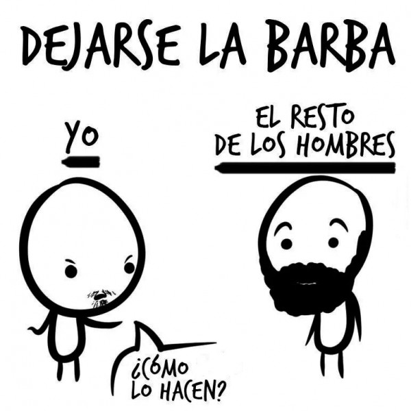 Dejarse la barba