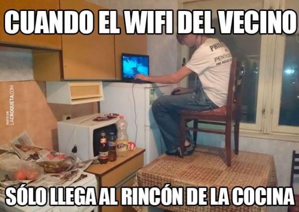 El WiFi del vecino