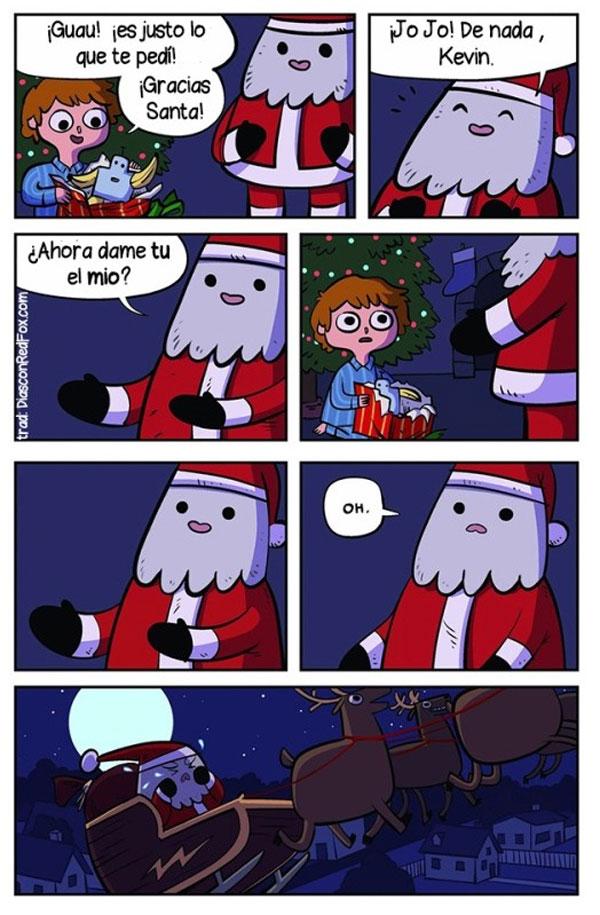 El regalo de Santa Claus