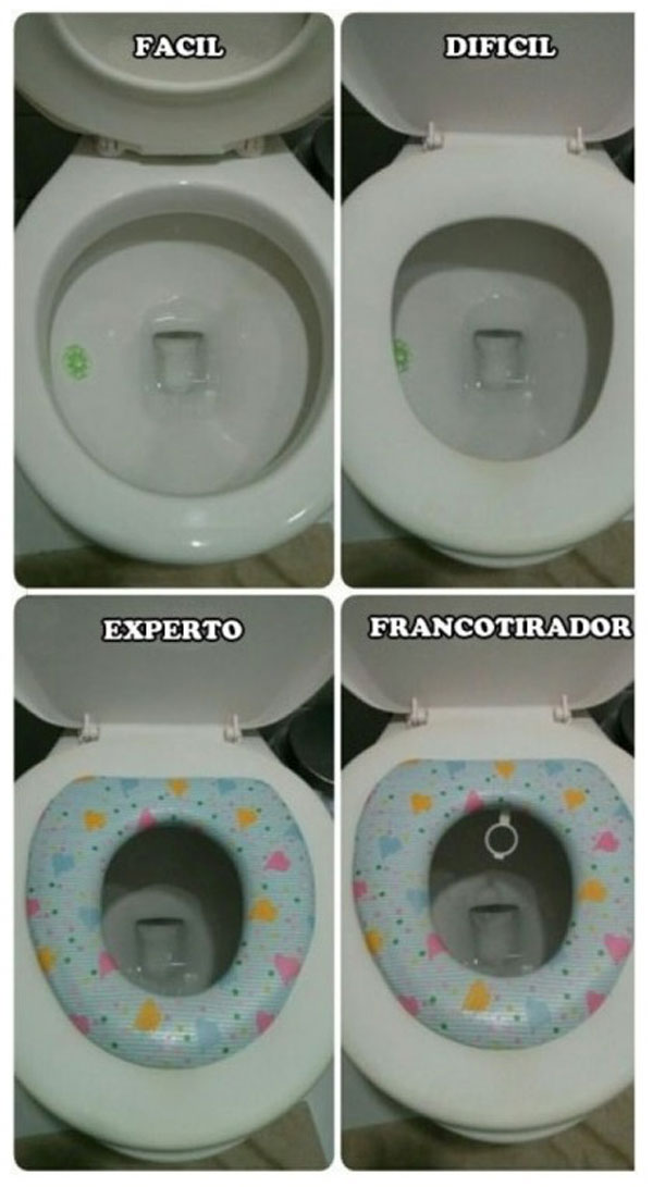 Nivel en el WC