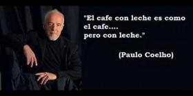 Paulo Coelho y el café
