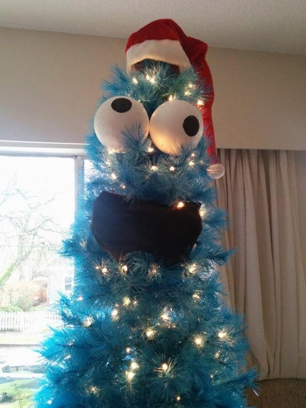 Árbol de navidad monstruoso