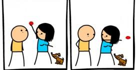 El perro tiene más atención que yo