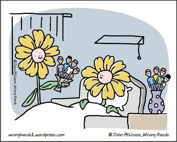 En el mundo paralelo de las flores