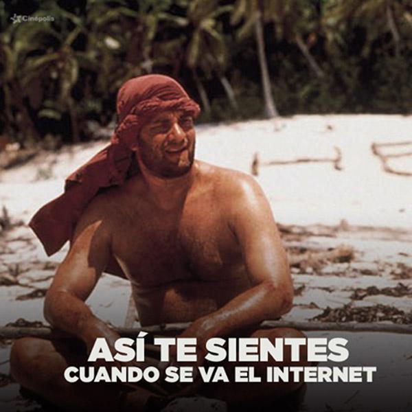 Cuando se te va Internet
