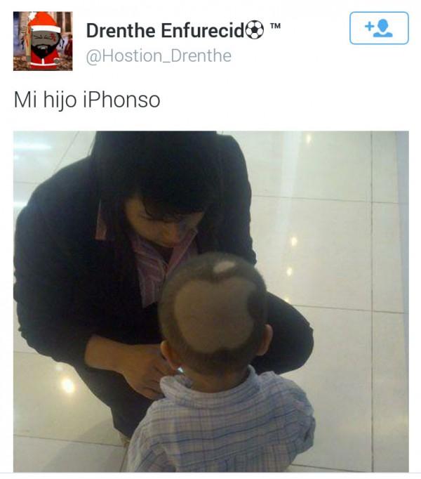 Mi hijo iPhonso