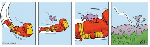 El talón de Aquiles de Ironman