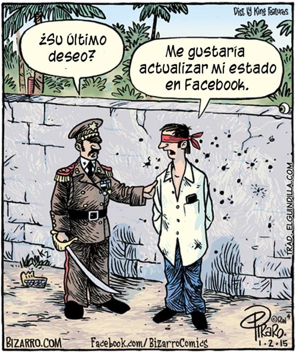 Actualizar mi estado de Facebook