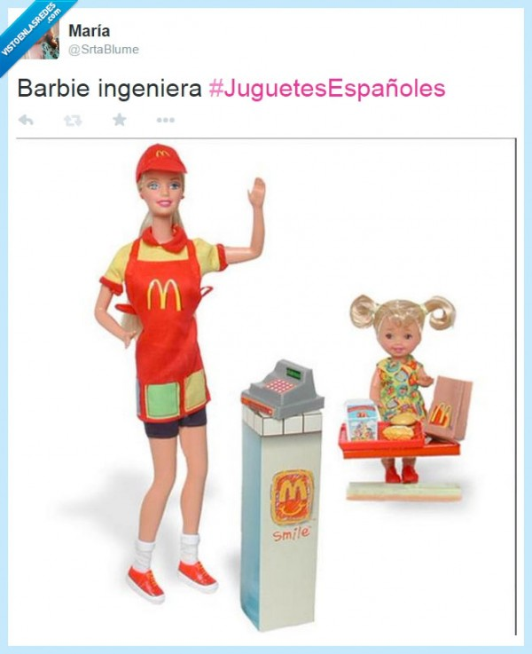 Barbie ingeniera