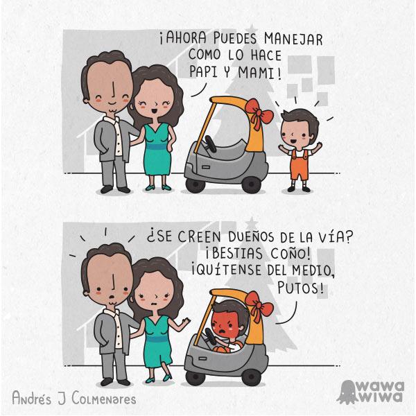 Como mami y papi