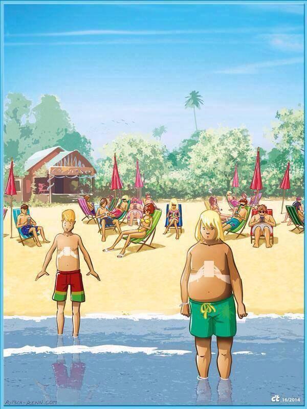 En la playa con tu smartphone