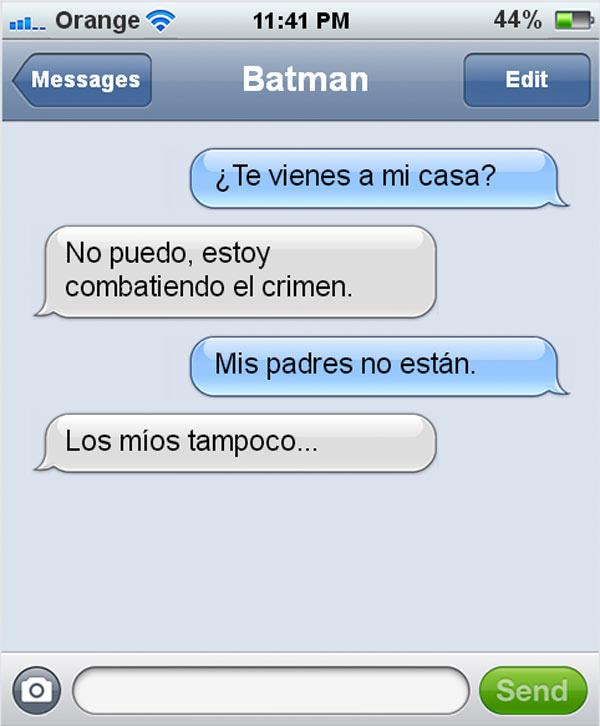 Mensaje de Batman