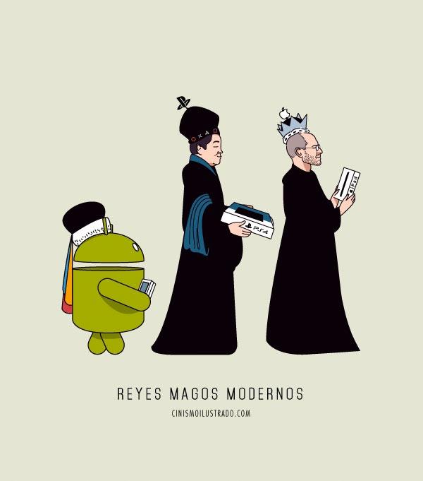 Reyes magos modernos