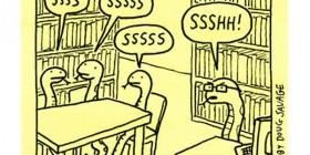 Serpientes en la biblioteca