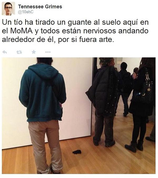 Un guante en el MOMA