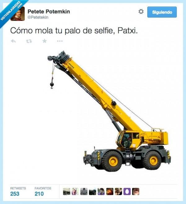 El palo de selfie de Patxi