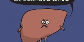 Feliz año nuevo de tu hígado