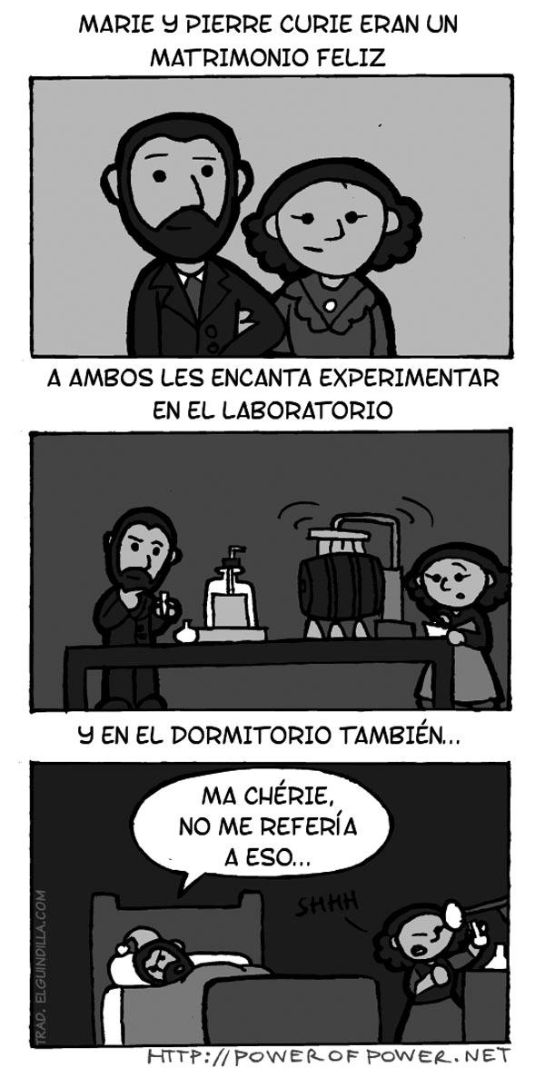 Marie y Pierre Curie eran un matrimonio feliz
