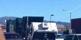 Un camión triste