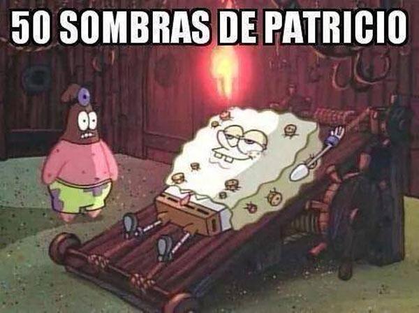 50 sombras de Patricio