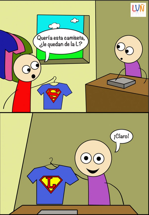 Camiseta de la L