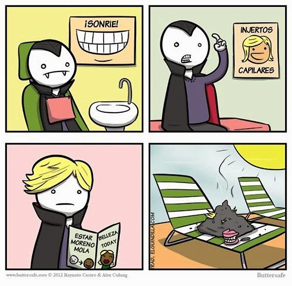 El vampiro popular