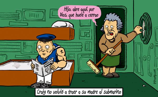 La madre y el submarino