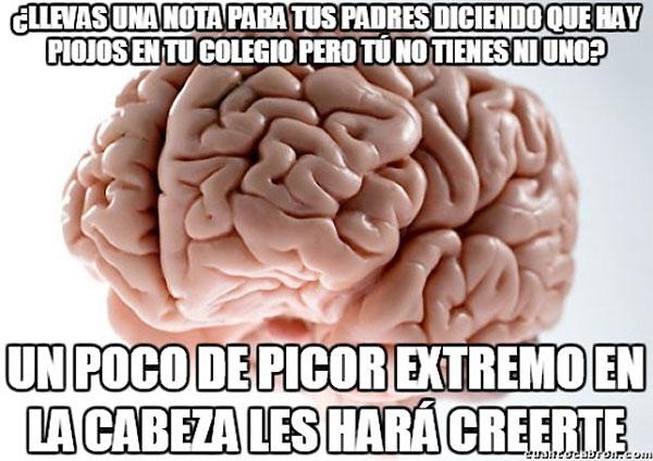 Picor extremo en la cabeza