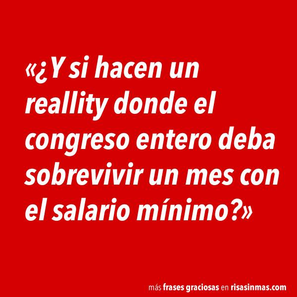 Reallity del congreso