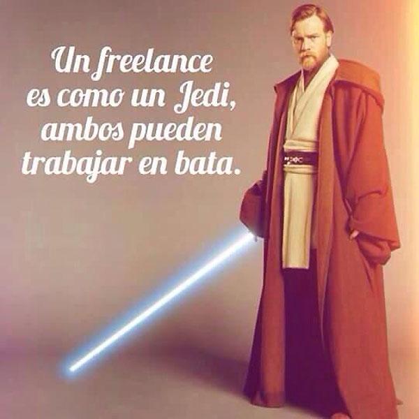 Un freelance es como un Jedi