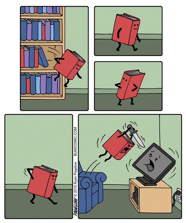 El libro mató la televisión