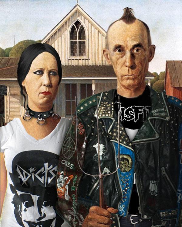 Gótico estadounidense punk