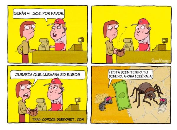 Tengo tu dinero, libérala