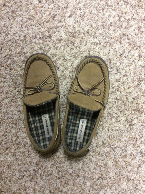 Pareidolia con tus zapatos