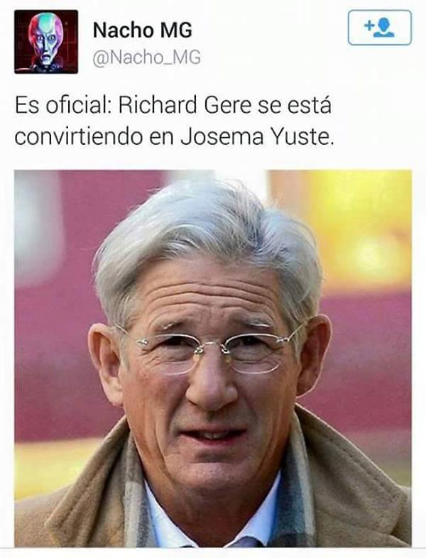 Richard Gere es Josema Yuste
