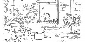 Simon's cat: Mariposas