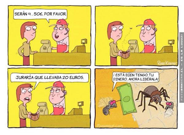 Toma tu dinero, libérala