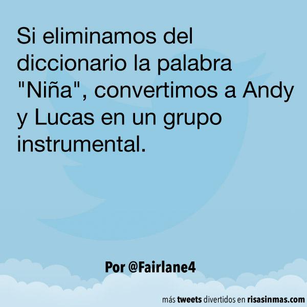 Andy y Lucas como grupo instrumental