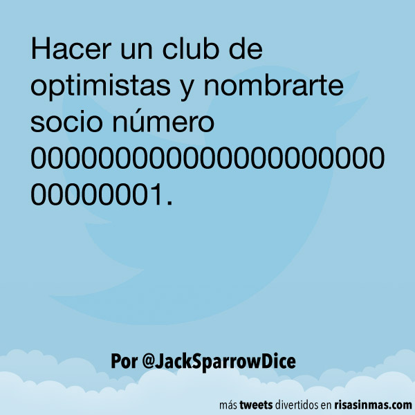 Club de optimistas