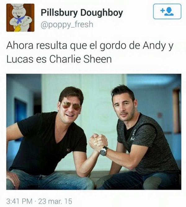 El gordo de Andy y Lucas