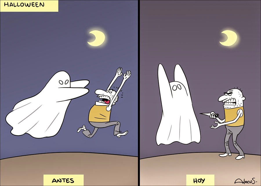 Halloween, antes y hoy