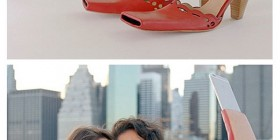 LLegan los zapatos para selfies