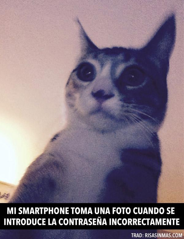 Mi smartphone toma una foto
