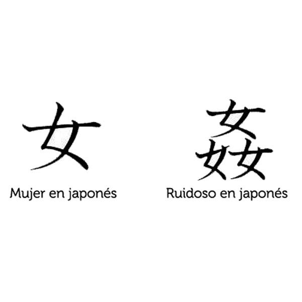 Mujer en japonés