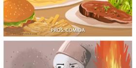 Pros y contras de preparar comida