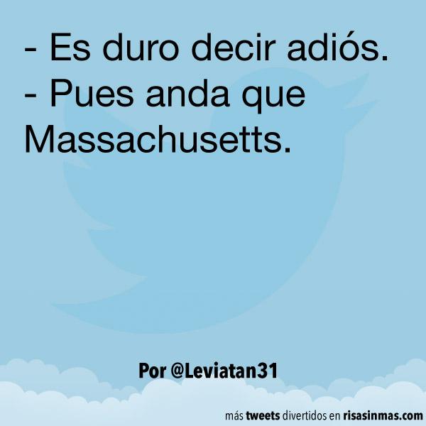 Pues anda que Massachusetts
