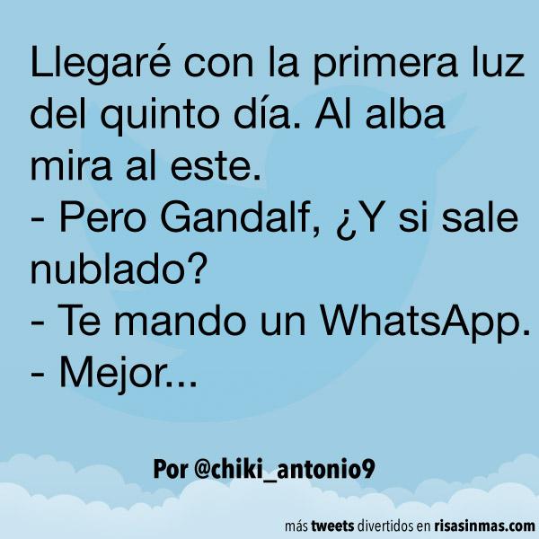 Te mando un WhatsApp