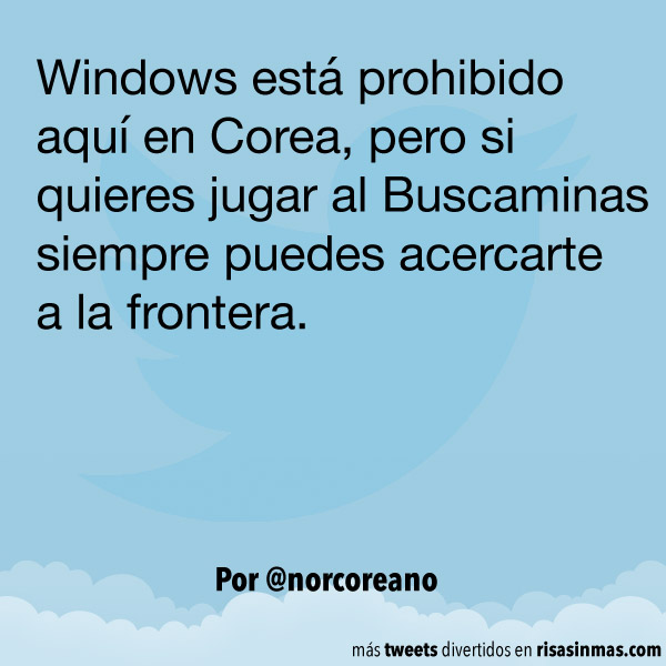 Windows prohibido en Corea